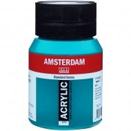 Краска акриловая AMSTERDAM (675) Зеленый ФЦ 500 мл Royal Talens (17726752)