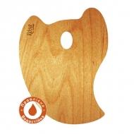 Палитра деревянная для художников профессиональная Перчик 30*40 см
