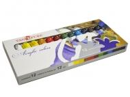 Набор акриловых красок  Van Pure12 цветов 12 мл