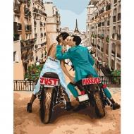 Картина по номерам Идейка 40х50см Любовь в большом городе (КНО4656)