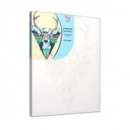 """Картина раскраска по номерам """"Cool deer"""" без коробки, 35*45"""
