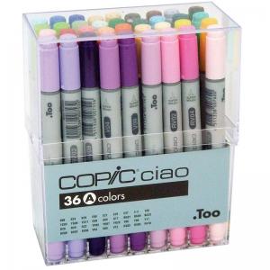 Набор маркеров COPIC ciao (A) 36 цвета