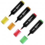 Маркеры Highlighter D2501 1-5 мм долото в ассортименте