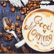 Картина по номерам Идейка 40х40см Good Morning (КНО5523)
