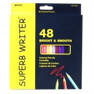 Карандаши  48 цветов шестигранные, Superb Writer,   Marco (4100-48CB)