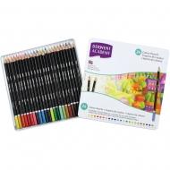 Набор цветных карандашей Colouring Academy, 24 цв.в метал. коробке, Derwent