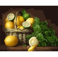 Картина по номерам Идейка 40х50см Лимонный настроение (КНО5589)