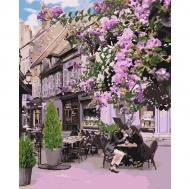 Картина по номерам Идейка 40х50см Уютный ресторанчик (КНО4653)