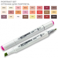 Набор маркеров SKETCHMARKER 24 Portrait Set  Портрет