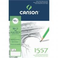 Альбом для набросков на спирали Canson 1557 Croquis 120 гр, A4 (50)