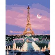Картина по номерам BrushMe 40*50см Парижский вечер (GX29484)