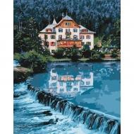 Картина по номерам Идейка 40х50см Дом мечты (КНО2267)