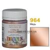 Краска акриловая для стекла и керамики DECOLA 50 мл, 964 Медь