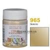 Краска акриловая для стекла и керамики DECOLA 50 мл, 965 Золото