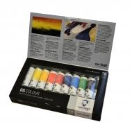 Набор масляных красок VAN GOGH 10 цветов 20 мл