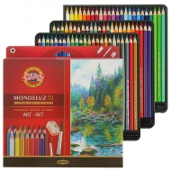 Карандаши цветные акварельные Mondeluz, 72 шт.
