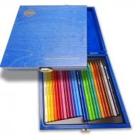 Карандаши цветные бездрев. Progresso, 24 шт., дерев. коробка