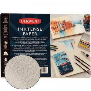 Склейка для акварели Inktense 17,78*25,4см, 300г/м2, 20л 100% хлопок Derwent