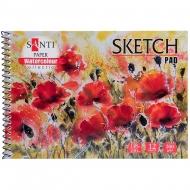 Альбом для акварели Santi Botanic А5 Paper Watercolour Collection 200г/м2 12 л. (742831)