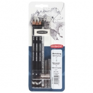 Набор материалов для графики Derwent Sketching Graphitone 8 предметов (700663)