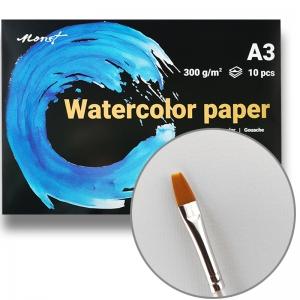 Бумага акварельная A3 Monet Premium 300 г/м2 10 листов