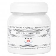 Белила эскизные цинковые масляные Ладога ЗХК, 220 мл / 700г