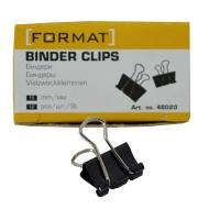 Биндеры для бумаги 15 мм Format 12 шт