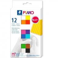 Набор пластики Fimo Soft Basic Colours 12 цв Fimo (8023C12-1)