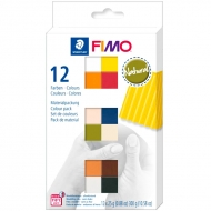 Набор пластики Fimo Soft Natural Colours 12 цв