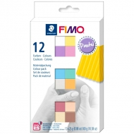 Набор пластики Fimo Soft Pastel Colours 12 цв