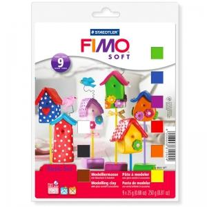 Набор пластики Fimo Soft Ассорті 9 цв