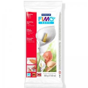Пластика самозастывающая белая Fimo Air 500 г