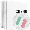 Набор холстов Monet среднее зерно 20*30 см итальянский хлопок 335 г/м (5 шт.)