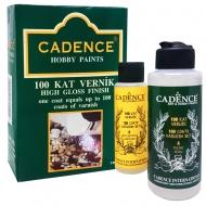 Эпоксидная смола Cadence прозрачная двухкомпонентная 100 Coats Vernish Set 120+70мл
