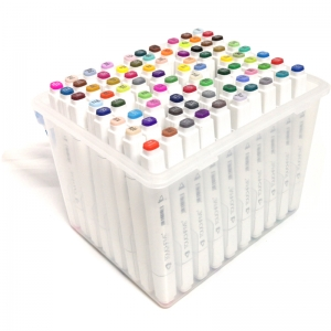 Набор маркеров Touch Five в пластиковом боксе 80 цветов