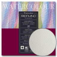 Склейка-блок для акварели Watercolor 30*30см 200г/м2 20л среднее зерно Fabriano