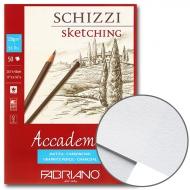 Склейка для эскизов Accademia А3 (29,7*42см) 120г/м2 50л Fabriano