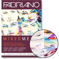 Склейка для смешанных техник Mixed Media А3 250г/м2 40л Fabriano