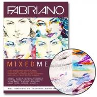 Склейка для смешанных техник Mixed Media А4 250г/м2 40л Fabriano