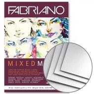 Склейка для смешанных техник Mixed Media А5 250г/м2 40л Fabriano