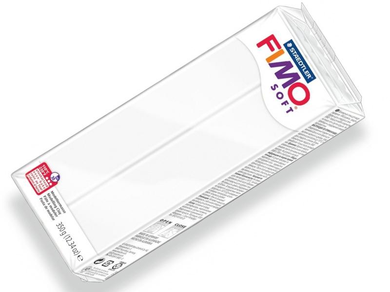 Пластика профессиональная FIMO SOFT 8022 Белая 350 г