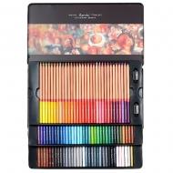 Карандаши цветные Marco Fine Art в металлическом пенале кедр 100 цветов