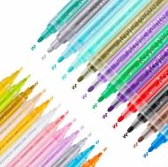 Набор акриловых маркеров универсальных FlySea 2-3 мм 24 цветов