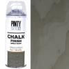 Краска-аэрозоль на водной основе Серый (798) 400мл Chalk-finish PINTYPLUS