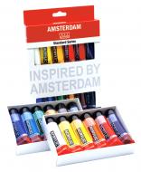 Набор акриловых красок AMSTERDAM STANDART Голландия 12 цветов 20 мл