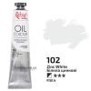 Краска масляная, масло ROSA Gallery 45мл, 102 Белила цинковые