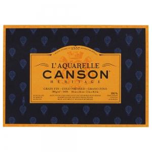 Альбом для акварели Canson Heritage 18*26 300гр/м²  20 листов
