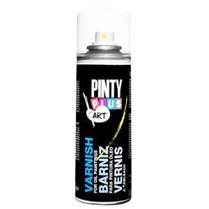Лак-аэрозоль для масляных красок ART & CRAFT, 200 мл, PINTYPLUS