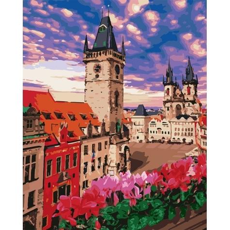 """Картина по номерам Идейка 40х50см """"Невероятная Прага"""""""