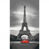 Картина по номерам Идейка 30*50 см Париж 2(КНО2147)